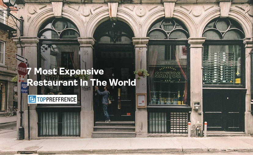 7 Most Expensive Restaurant In The World
