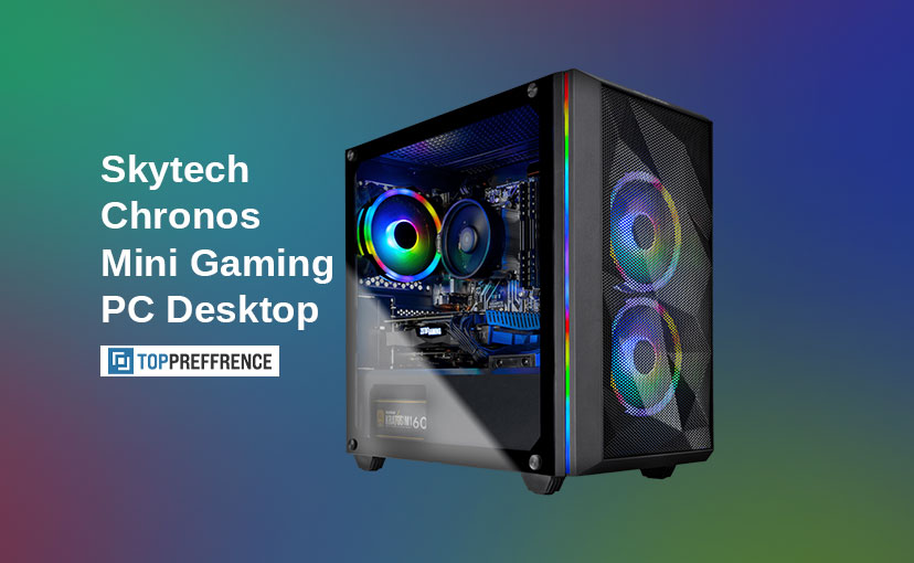 Skytech Chronos Mini Gaming PC Desktop