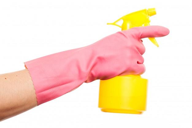 Clogged Spray Arms