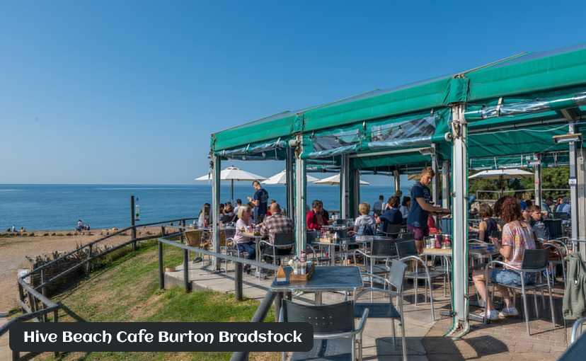 Hive Beach Cafe Burton Bradstock