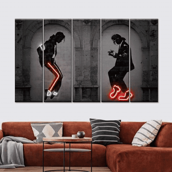 Use graffiti to add elements of hip hop in the room: